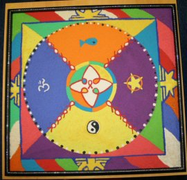 Sand Mandala - Body Positive North West